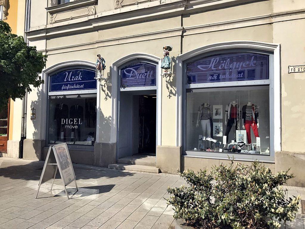 Duett Ruházati bolt Székesfehérváron