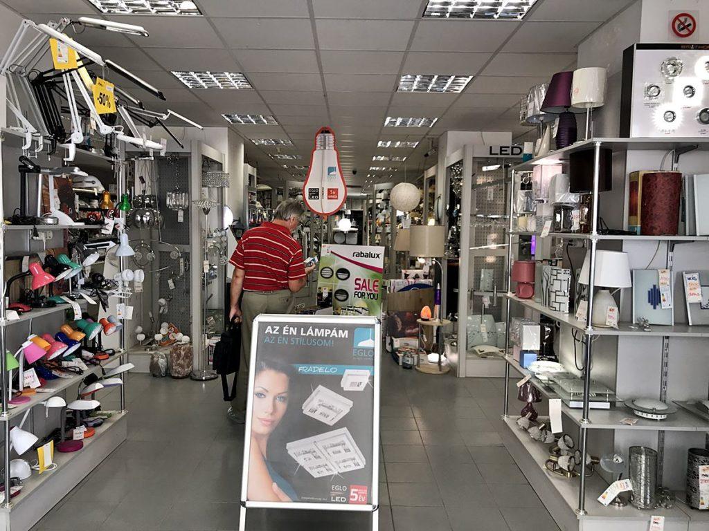 Villanyász Villamossági bolt Székesfehérvár
